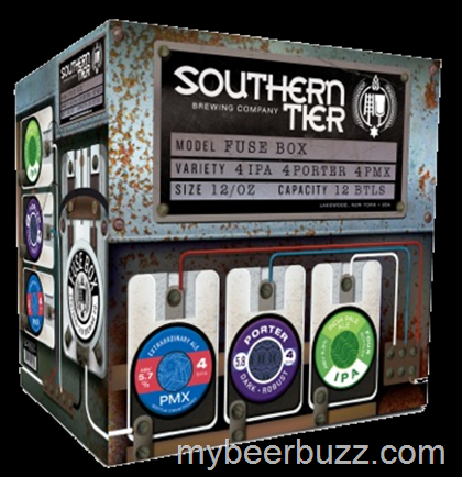 southern tier releases new fuse box variety box with new pmx rh mybeerbuzz blogspot com Southern Tier IPA Southern Tier IPA