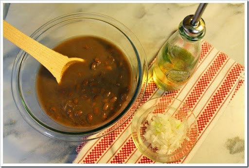 Fried Pinto Beans | Ingredients