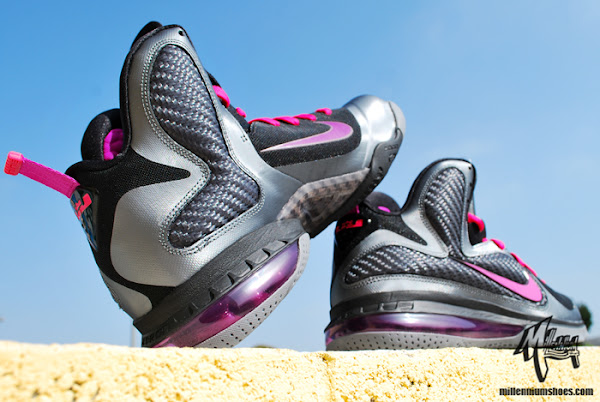 Actual Photos of Nike LeBron 9 8220Miami Nights8221