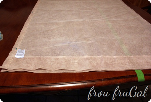 Make a Cutting Guide to Sew Long Fabric