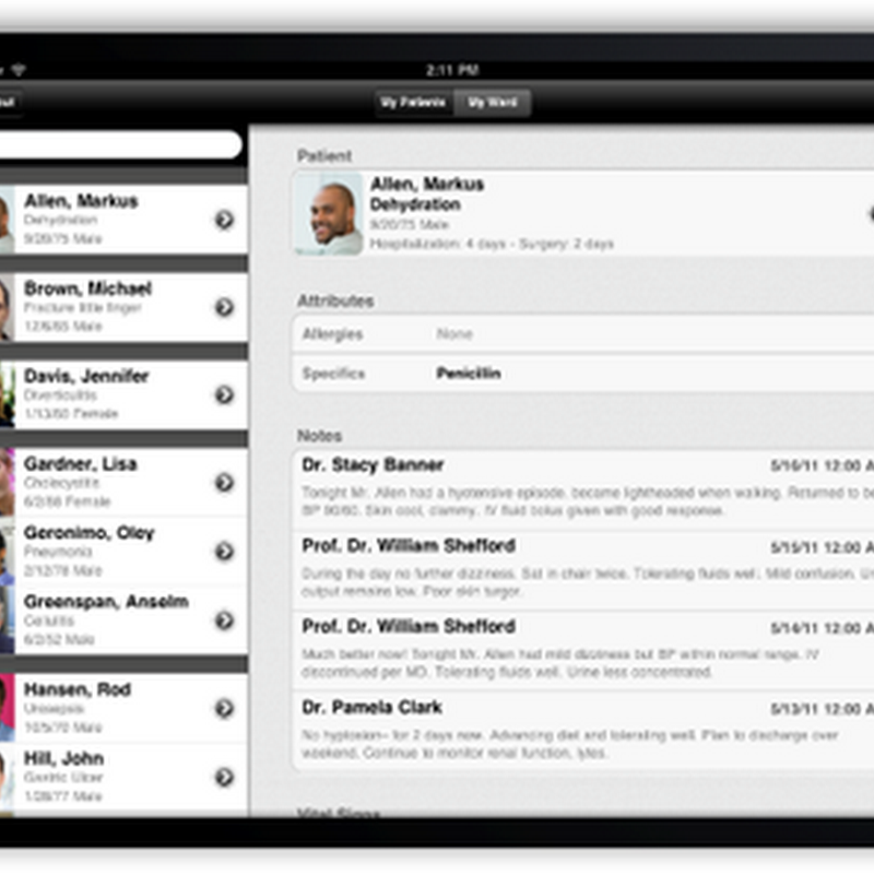SAP Mobile mHeatlh IPad Application/Platform Debuted by Developers in Europe