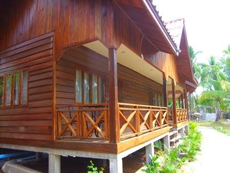 nuestro bungalow en Don Khon