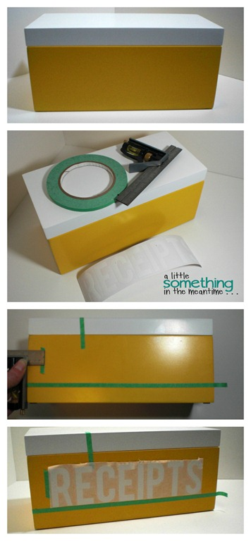 Receipt Box Vinyl Collage WM