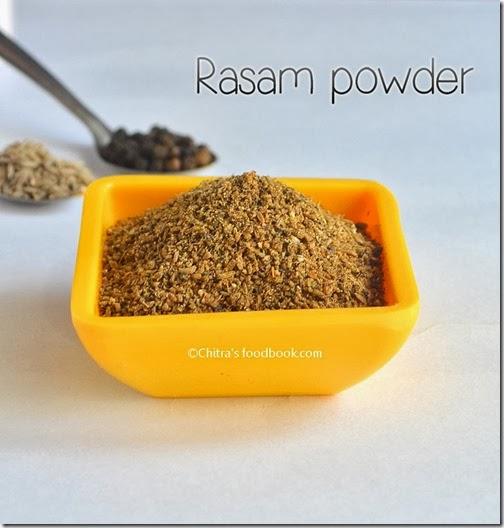 Easy rasam powder