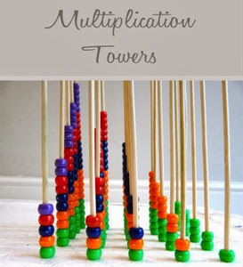 Multiplication-towers from Navigating by Joy