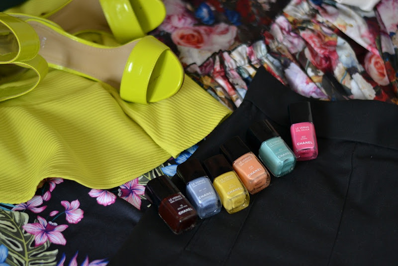 Fashion Details, Milano Fashion Week, MFW, Chanel Nailpolish, H&M Shoes, Neon, primark