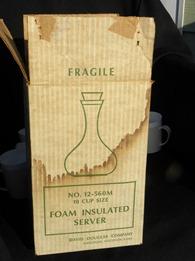 David Douglas Therm Ware carafe box