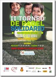 Este torneo es puntuable en el ranking de la Federación Madrileña de Pádel y se jugará a beneficio de la Fundación Colores de Calcuta