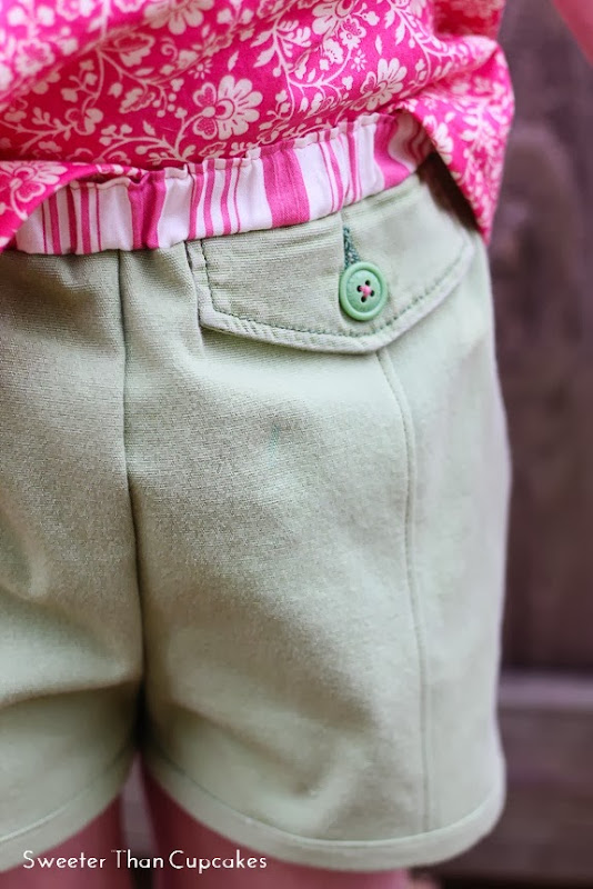 Japanese Bubble Pocket Shorts