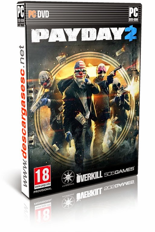 PAYDAY 2 [v1.12.2] [Incl. All DLC's   Cracked MP]-pc-cover-box-art-www.descargasesc.net