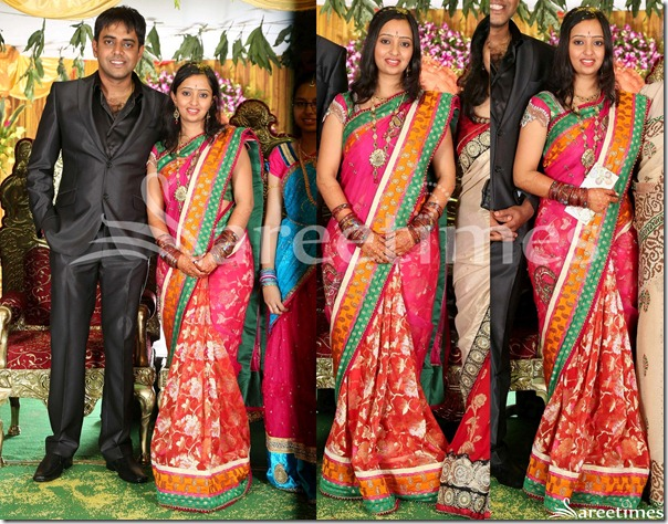 Singer_Malavika_Wedding_Saree