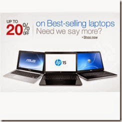 Amazon: Buy Best Selling Laptops upto 35% off from Rs. 15999 only