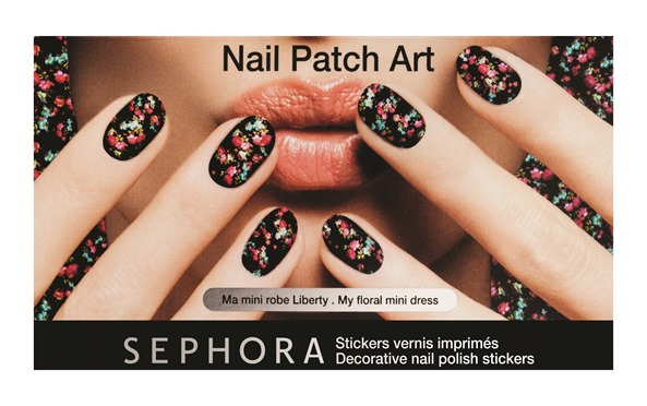 Nail Patch 02 - Ma mini robe liberty - 49AED