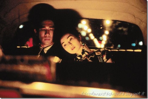 in the mood for love in the car