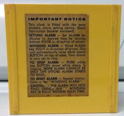 Bradley alarm clock instructions