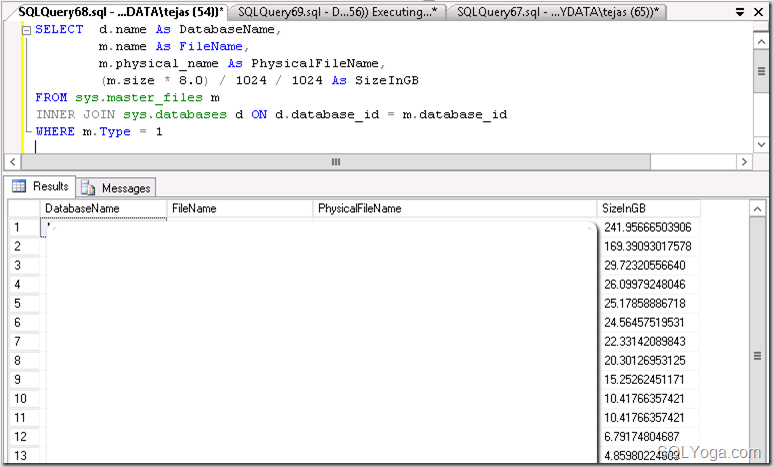 SQL_Yoga_Find_Current_Location_of_Log_File(s)_of_All_the_Database