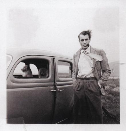 Gary Cooper, Los Angeles, 1940