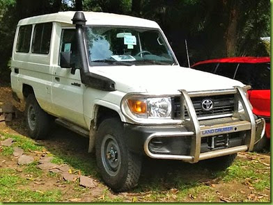 New Land Cruiser (2), Congo