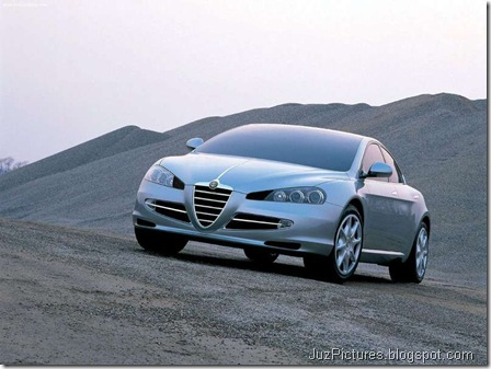 Alfa Romeo Visconti Concept ItalDesign1