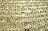 Tkanina metaliczna meblowa. Złota, w kwiaty