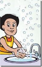 lavarse  las manos(4 f)