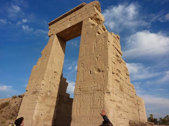 Египет храм Хатхор