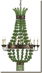 Currey and company  Goddess chandelier