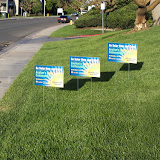 Yard Signs with Stands
