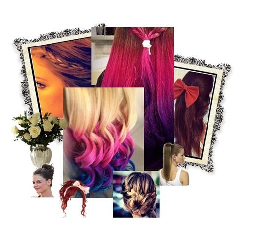 cabelos carnaval