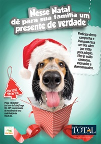 Shopping Total realiza feira de adoção de cães em Curitiba.