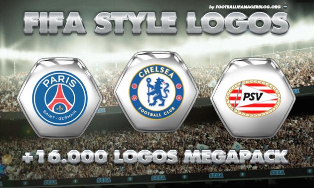 Football Manager FIFA Style Logos Megapack