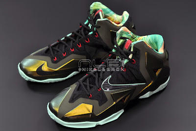 lebron11 king of the jungle 11 web dark LEBRON 11 Breakdown: Yes, its True to Size & Yes, its the Lightest LBJ Sig!
