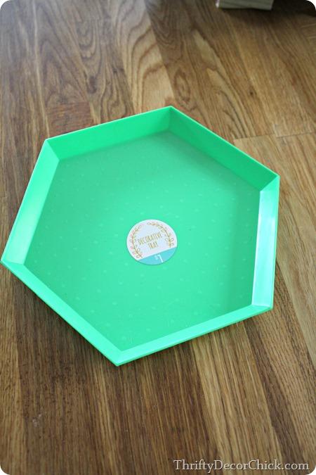 target dollar spot tray