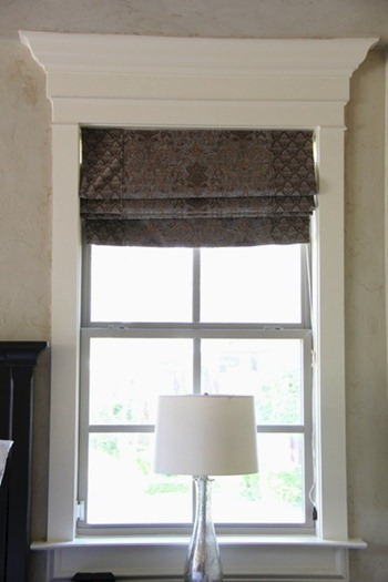 DIY window trim