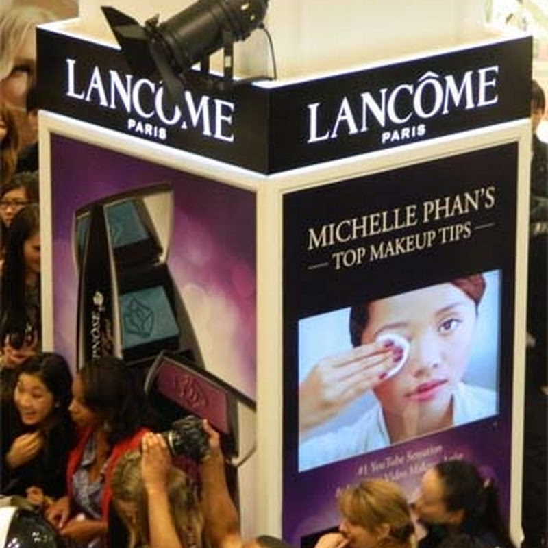 Michelle Phan at Myer Sydney for Lancôme