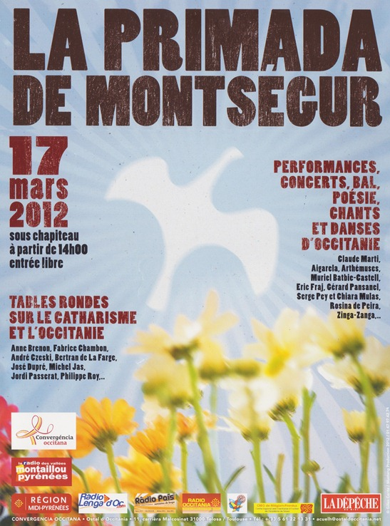 primada de Montsegur 2012