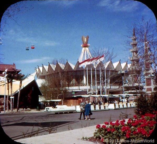 View-Master New York World's Fair 1964-1965 (A671),Scene 17 Indonesian Pavilion