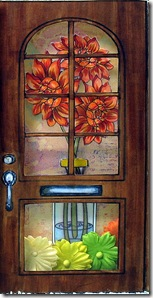 Dahlia right door