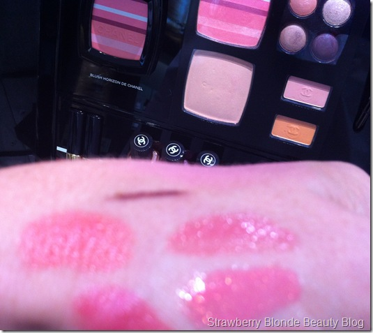 Chanel Spring 2012 Makeup Swatches