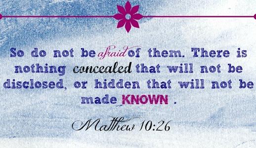 Matthew 10 26