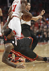 lebron james nba 130510 mia at chi 12 game 3 Heat Outlast Bulls in Physical Game 3 to Lead the Series 2 1