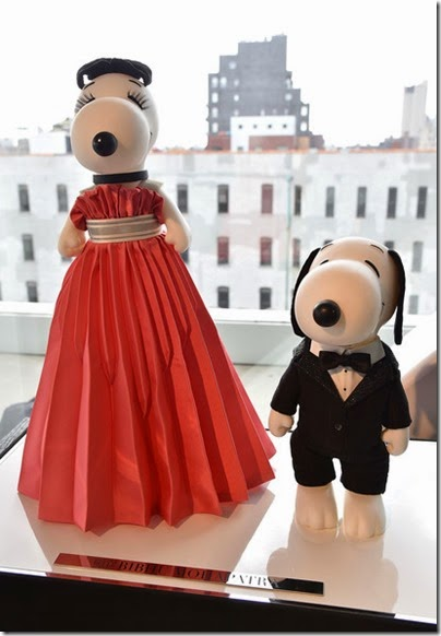 Peanuts X Metlife - Snoopy and Belle in Fashion Exhibition Presentation (Source - Slaven Vlasic - Getty Images North America) 05