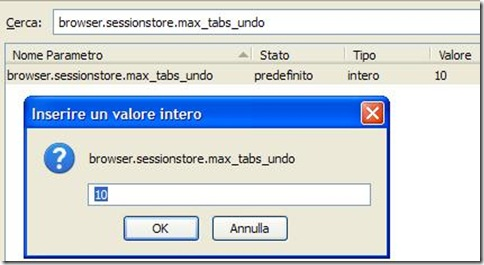 Firefox browser.sessionstore.max_tabs_undo