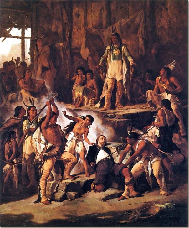 Victor Nehlig, Pocahontas et John Smith
