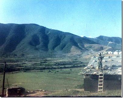 Mtn outside Russells hooch, 1-13, west of Da Nang