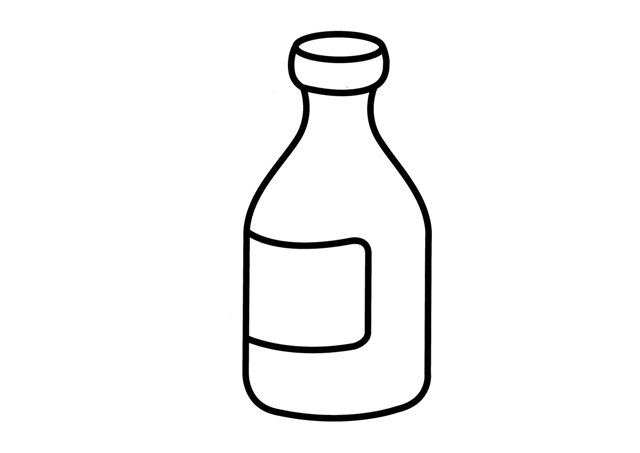 Bottle coloring pages for Coloring pages of bottles