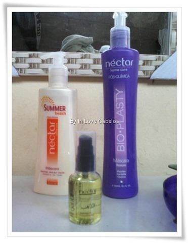 Hidronutrio com produtos Nctar do Brasil.