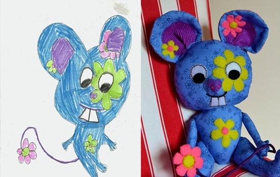 Brinquedos de desenhos de crianças (6)