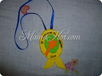 Medalla de Concurso Infantil