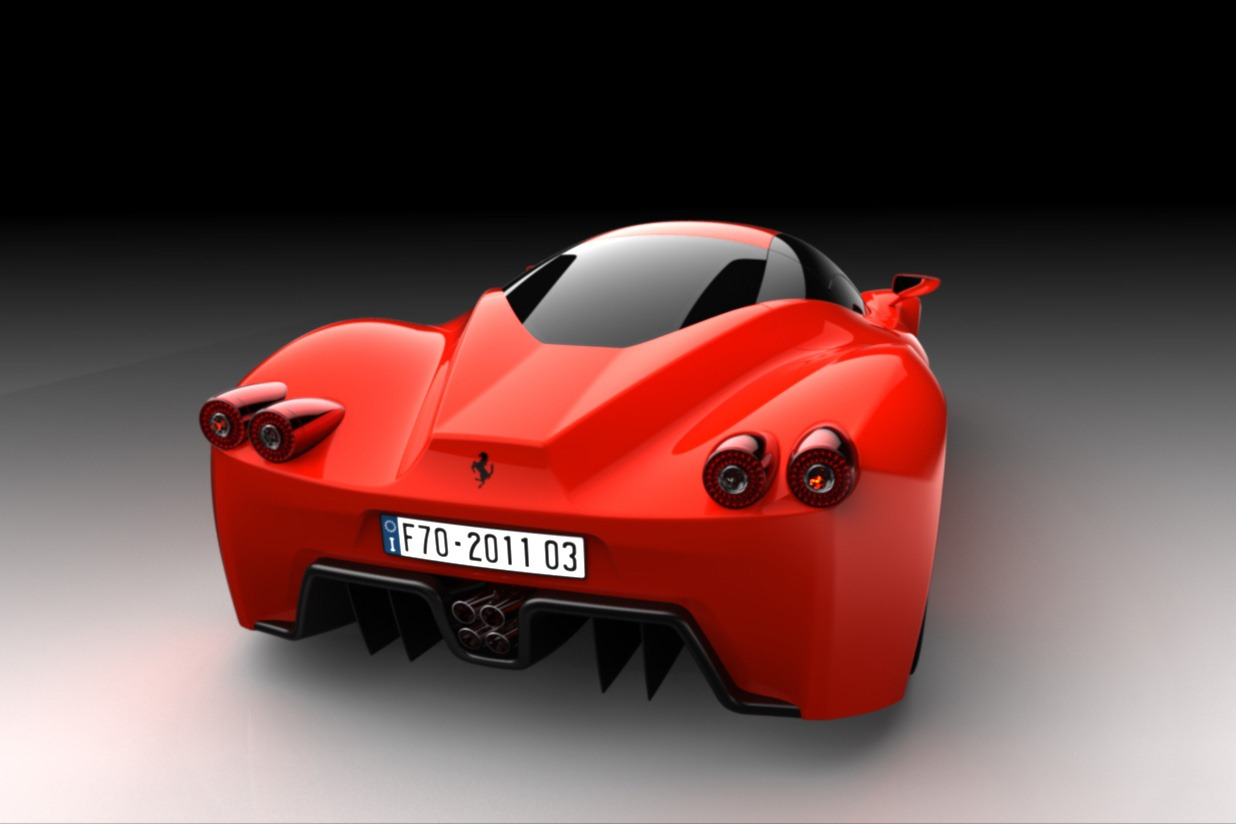 Ferrari f70 supercar design study constantin gabriel radu ferrari f70 design 7 vanachro Choice Image